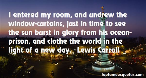 Quotes About Window Curtains