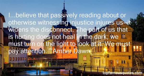 Quotes About Witnessing Injustice