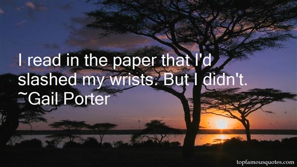Quotes About Wrists