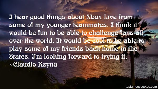 Quotes About Xbox Live