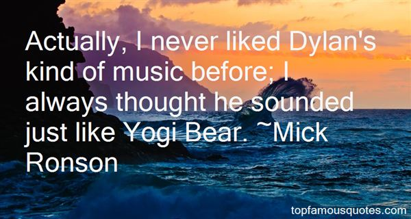 Quotes About Yogi Bear