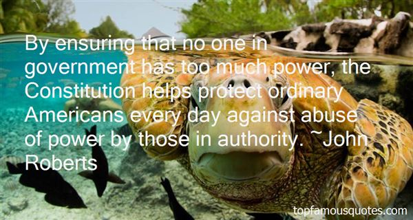 Quotes About Abuse Of Authority