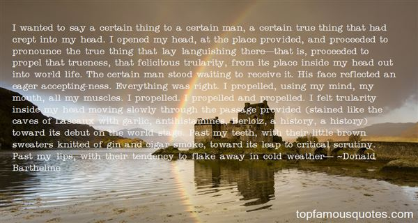 Quotes About Accepting The Past
