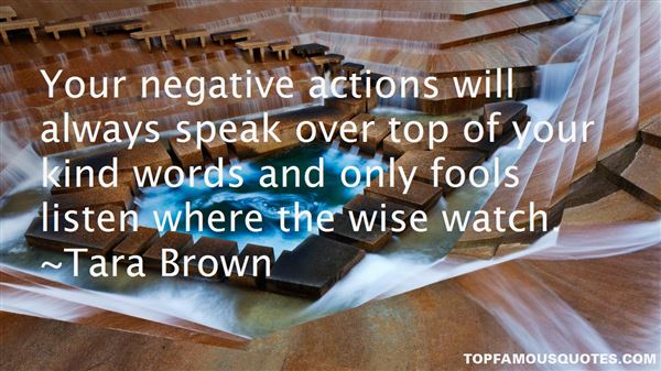 Quotes About Actions Over Words