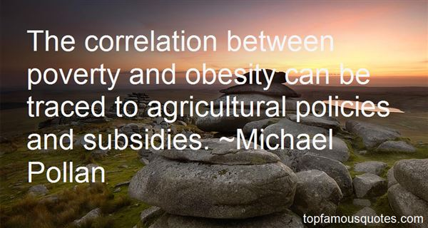 Quotes About Agricultural Subsidies