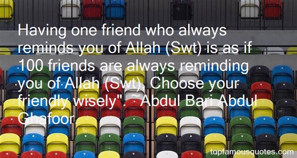 Quotes About Allah Swt