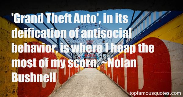Quotes About Antisocial Behavior