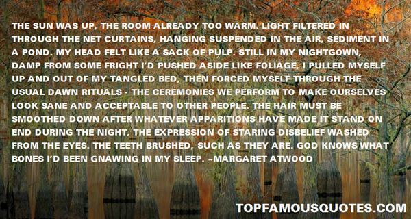 Quotes About Apparition