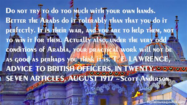 Quotes About Arabi