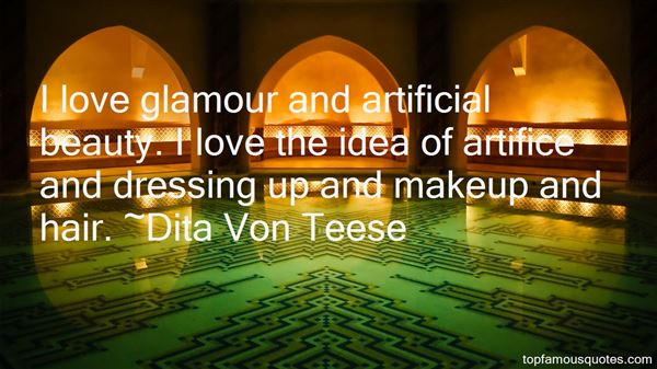 Quotes About Artificial Beauty