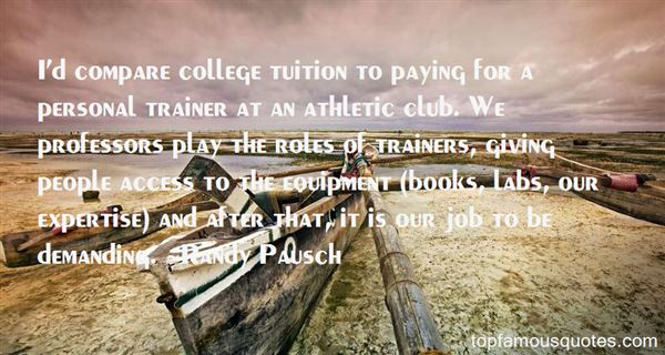Quotes About Athletic Trainers