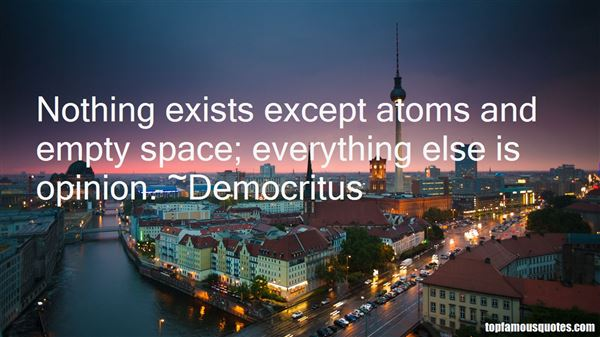 Quotes About Atoms