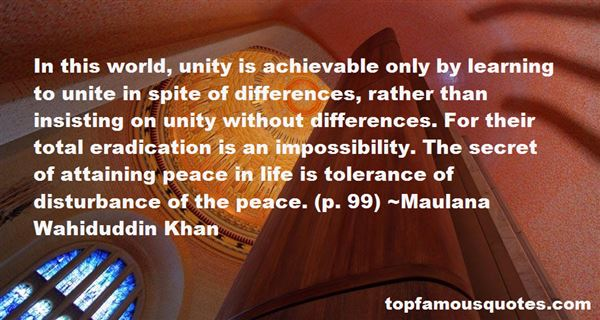Quotes About Attaining Peace