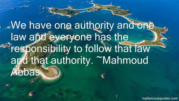 Quotes About Authority And Responsibility
