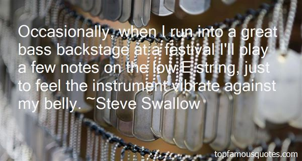 Quotes About Backstage