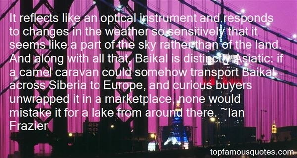 Quotes About Baikal