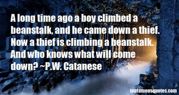 Quotes About Beanstalk