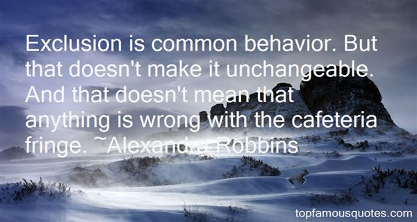 Quotes About Behavior Change