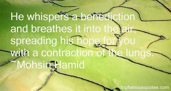 Quotes About Benediction