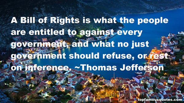 Quotes About Bill Of Rights