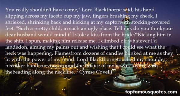 Quotes About Blackthorne