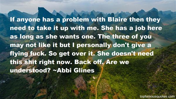 Quotes About Blaire