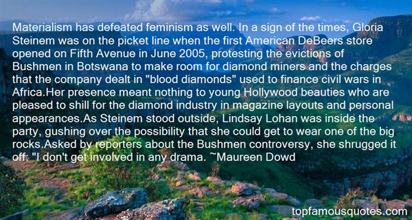 Quotes About Blood Diamonds