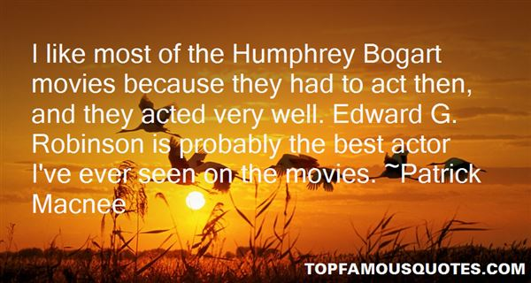 Quotes About Bogart