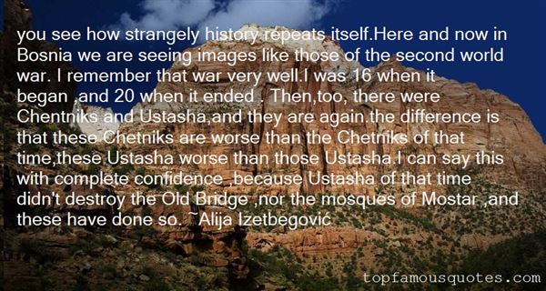 Quotes About Bosnia