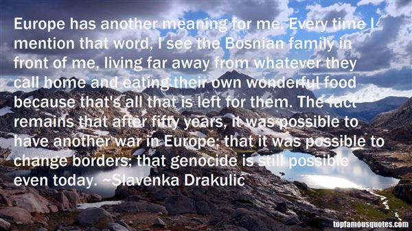 Quotes About Bosnian Genocide
