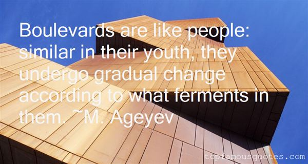 Quotes About Boulevards