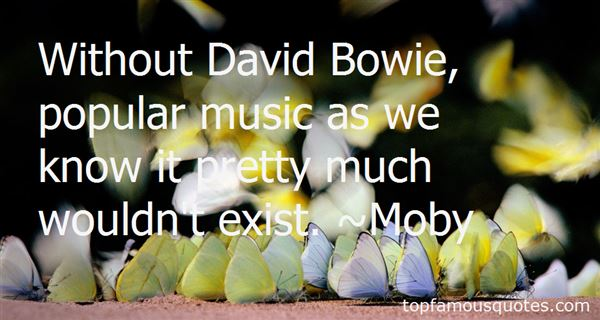 Quotes About Bowie