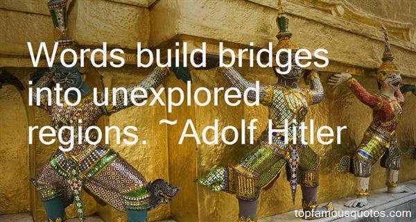 Quotes About Bridges
