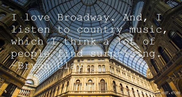 Quotes About Broadway