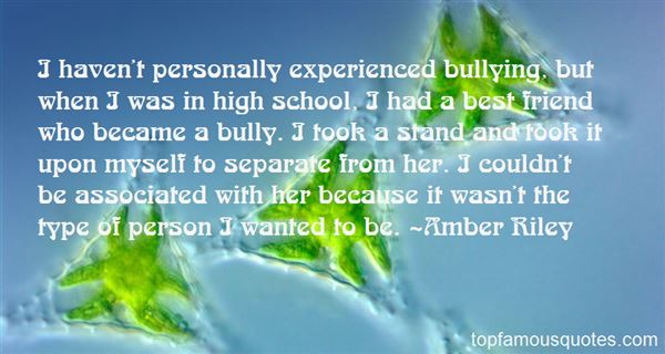 Quotes About Bullying In School