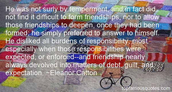 Quotes About Burden Of Responsibility