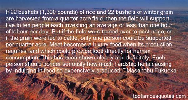 Quotes About Bushel