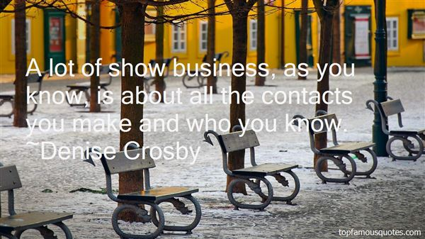 Quotes About Business Contacts