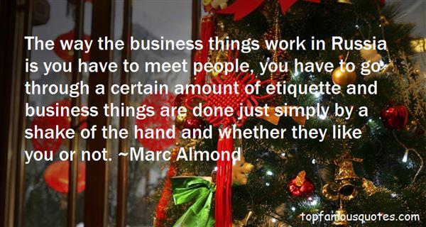 Quotes About Business Etiquette