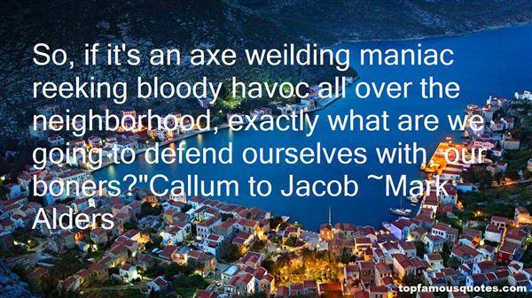Quotes About Callum