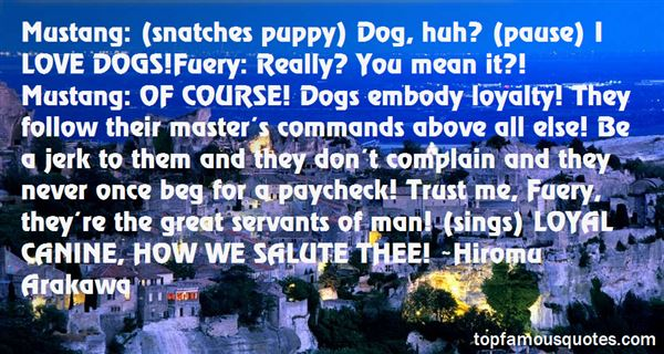Quotes About Canine