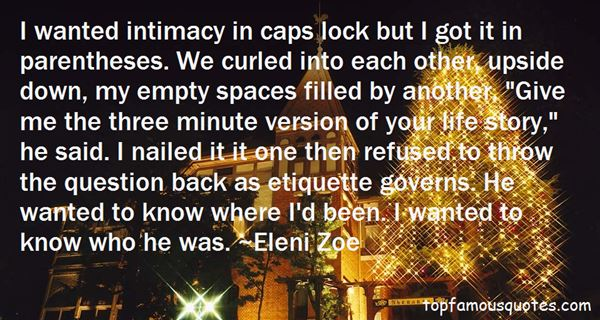 Quotes About Caps Lock