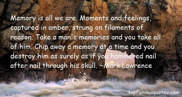 Quotes About Captured Memories
