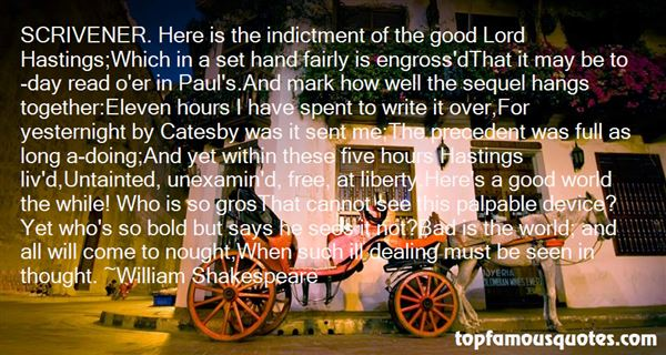 Quotes About Catesby
