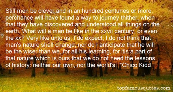 Quotes About Centuries