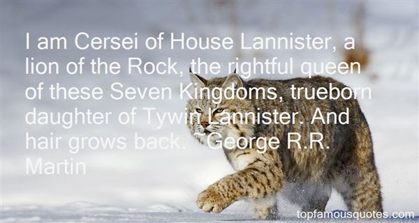 Quotes About Cersei Lannister