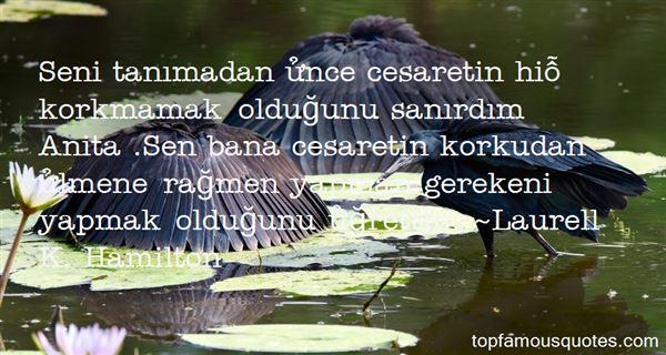Quotes About Cesaret