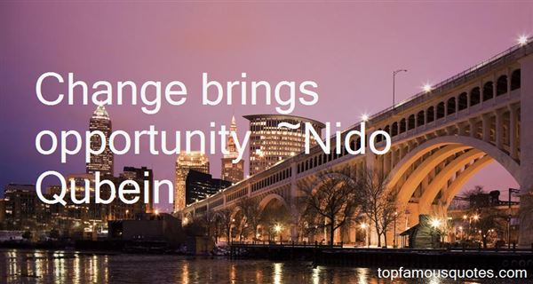 Quotes About Change Brings Opportunity