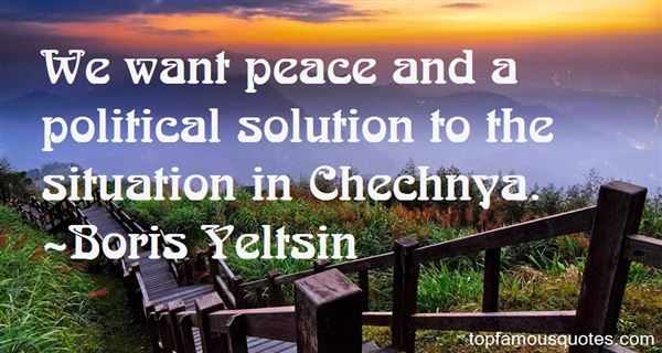 Quotes About Chechnya