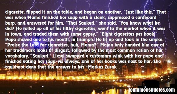 Quotes About Cigar